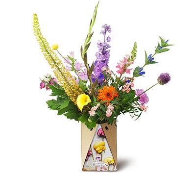 pluktuin in bloemenboxx