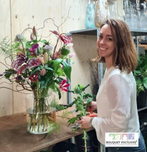Bloemen bezorgen door de lokale bloemist